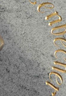 Sonderschrift in Gold
