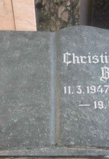 gotischer Schriftzug